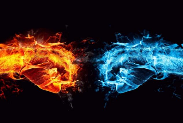 Why do flames have different colors?