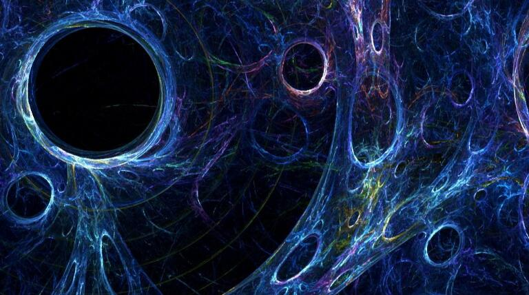 Is there a hidden law for the distribution of celestial bodies in the universe?