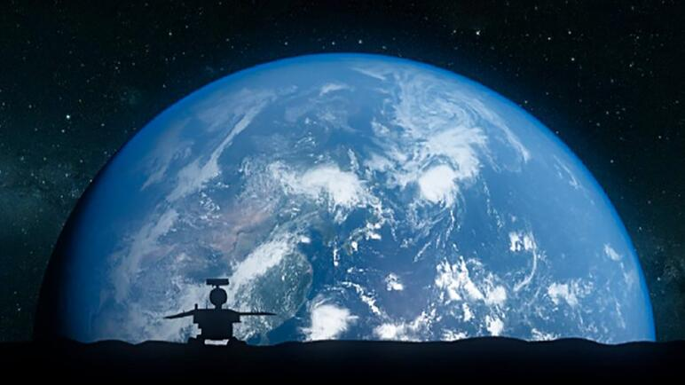 Looking at the earth from the moon, why does it make people feel terrified?