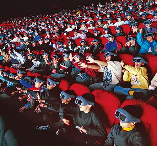 Why 3D movies look so real